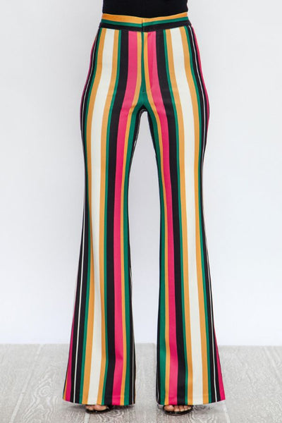 ANTOINETTE STRIPED TROUSERS