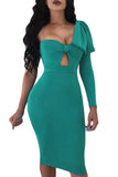 CHANAN BIG BOW BODYCON