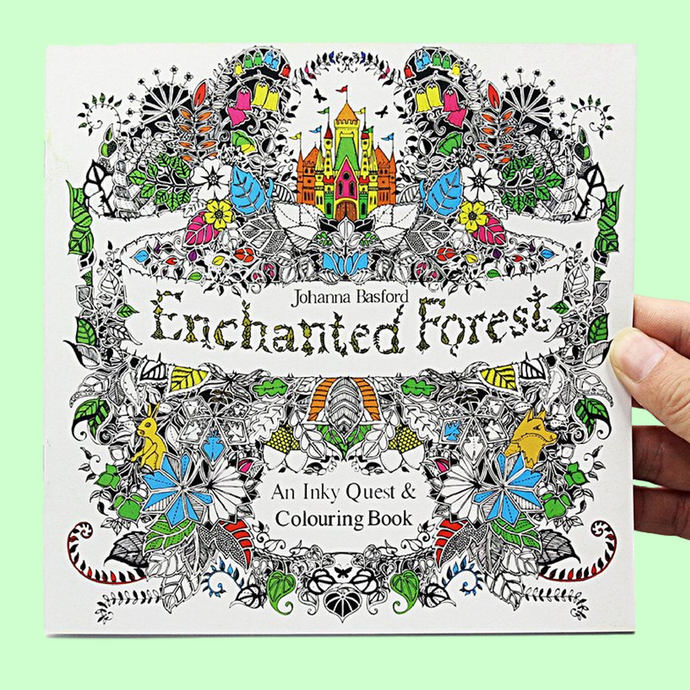 Enchanted Forest Colouring Book