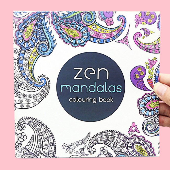 Zen Mandalas Colouring Book