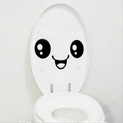Waterproof Decal For Toilet Smily
