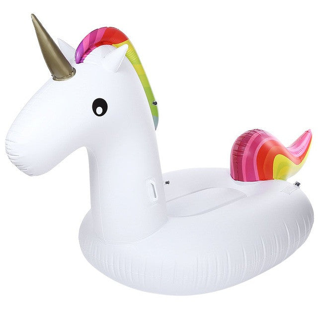 Inflatable Giant Unicorn Rideable Swimming Pool Float