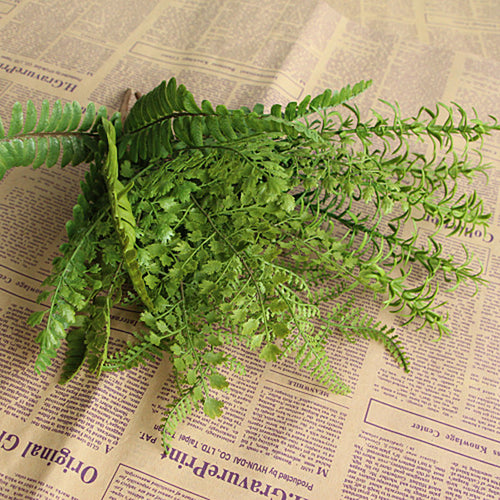 Artificial Fishtail Pine Fern Fake Plant