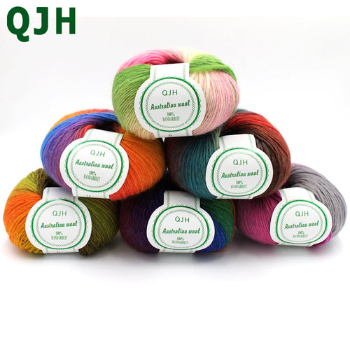 500g/lot Luxury Quality 100% wool yarns