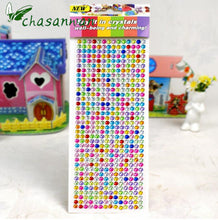 504pcs/sheet 6mm Rhinestones DIY Scrapbooking Stickers