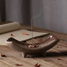 Buddha Ceramic Incense Holder