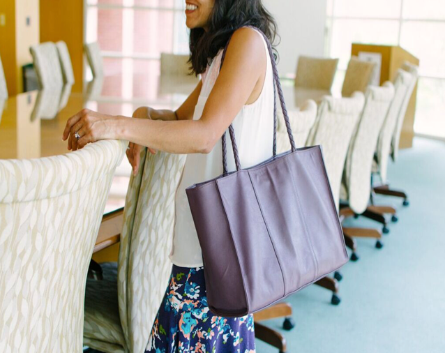 Professional Women Ask:  Can a Tote Bag Really Replace the Briefcase?