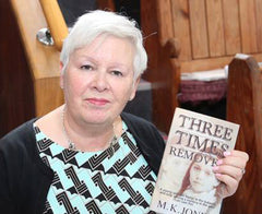 M.K. Jones, author of Maze Investigations series