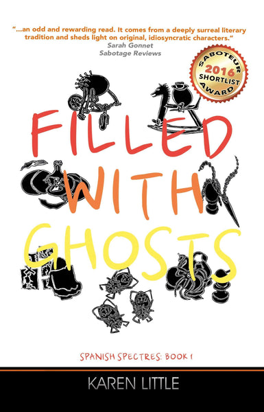 Filled With Ghosts, Karen Little - Wordcatcher Publishing