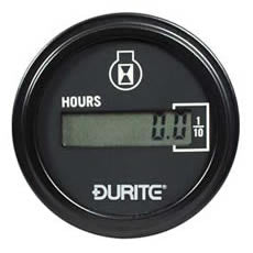 DURITE DIGITAL LCD ENGINE HOUR COUNTER