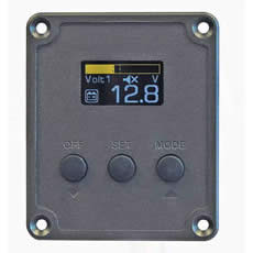 Durite 12/24V dual battery voltage monitor