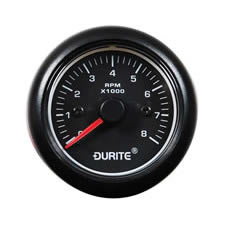 DURITE 12/24V TACHOMETER 270° SWEEP DIAL