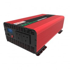 DURITE 3000W 12V DC to 230V AC Compact Sine Wave Voltage Inverter.