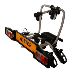 WITTER CYCLE CARRIER CLAMP ON TOW BALL MOUNTED 2 BIKE ZX302