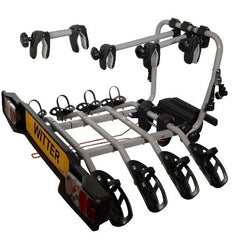 WITTER CYCLE CARRIER ZX304 CLAMP ON TOWBALL MOUNTED 4 BIKE