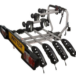 WITTER  ZX204 Cycle Carrier Bolt on Towball Mounted 4 Bike