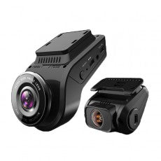 "DURITE 1080P FULL HD 2.4"" DUAL DASH CAMERA WITH WIFI STREAMING"