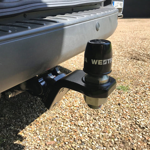 Volkswagen Transporter,MPV,T6 2015 - 2019 (Without Trailer Prep(O.E. bumper Support Required)) Westfalia Detachable Towbar (Vertical Loading)
