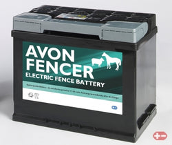Avon Fencer Battery 12V 685F  60AH ( RECHARGEABLE FLOODED LEAD ACID)