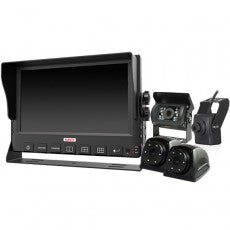 "DURITE 9"" 6- CHANNEL 720P CCTV KIT WITH BUILT-IN SSD DVR"