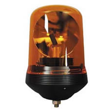 Durite R65 SINGLE BOLT ROTATING BEACON