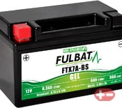 FTX7A-BS-GEL Fulbat Motorcycle Battery 12v 6.3Ah