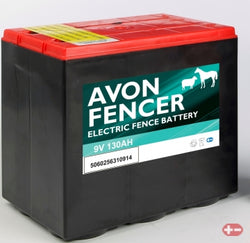 Avon Fencer Battery 6AS130  8.4V 130AH SALINE