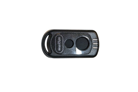 SIGMA VEHICLE ALARM 2 BUTTON REMOTE CASE FOR SIGMA S1,S4,S30 & S34 SYSTEMS SIGACTBC