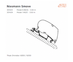 AWNING ADAPTER FOR NIESMANN SMOVE