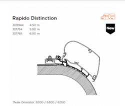 AWNING ADAPTER FOR RAPIDO DISTINCTION