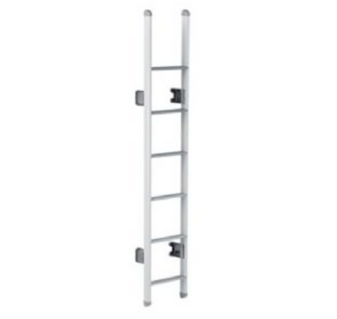 THULE LADDER DELUXE 6 STEPS (OVAL ARMS - WHITE LACQUERED)