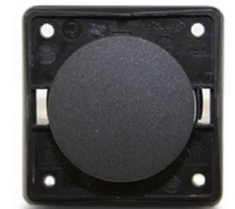 BERKER SINGLE ROCKER SWITCH - ANTHRACITE