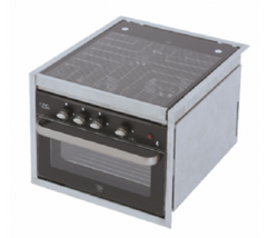 CU7000 COOKER- 3 BURNERS & 28LTR GRILL