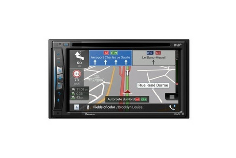 Pioneer AVIC-Z720DAB-C 6.2in Touch Screen Double Din Truck & Camper Navigation System