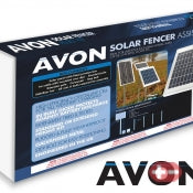 Avon 20W Solar Fencer Assist Kit 12v