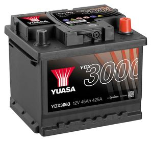 Yuasa YBX3086  CAR BATTERY SEALED 12V 75AH
