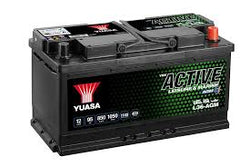 YUASA L36-AGM ACTIVE LEISURE AND MARINE DEEP CYCLE BATTERY