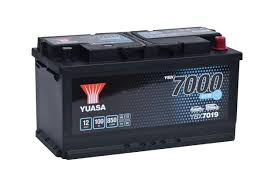 YUASA YBX7100 EFB Start Stop Plus Batteries