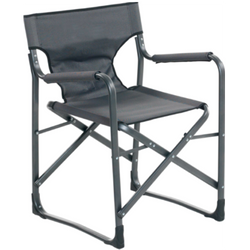 DURALITE DIRECTOR CHAIR, GREY