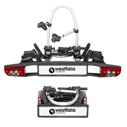 Westfalia BC60 Towball Mounted Tilting 2 Bicycle Carrier