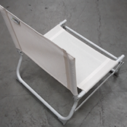 LIDO BEACH CHAIR, WHITE