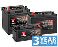 YUASA YBX3004 CAR BATTERY SEALED 12V 50AH