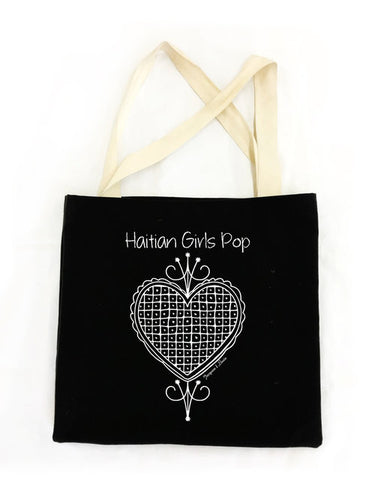Haitian Girls Pop Eco Tote