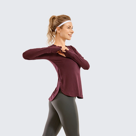 SAVVY GYM LONG SLEEVE