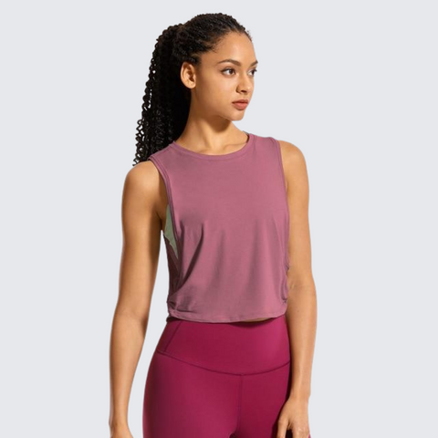 PRECISION CROPPED TOP