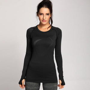 Fitness Junkies Black / M PERFORMANCE LONG SLEEVE