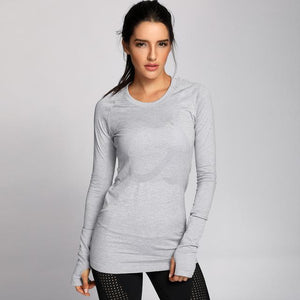 Fitness Junkies Grey / M PERFORMANCE LONG SLEEVE
