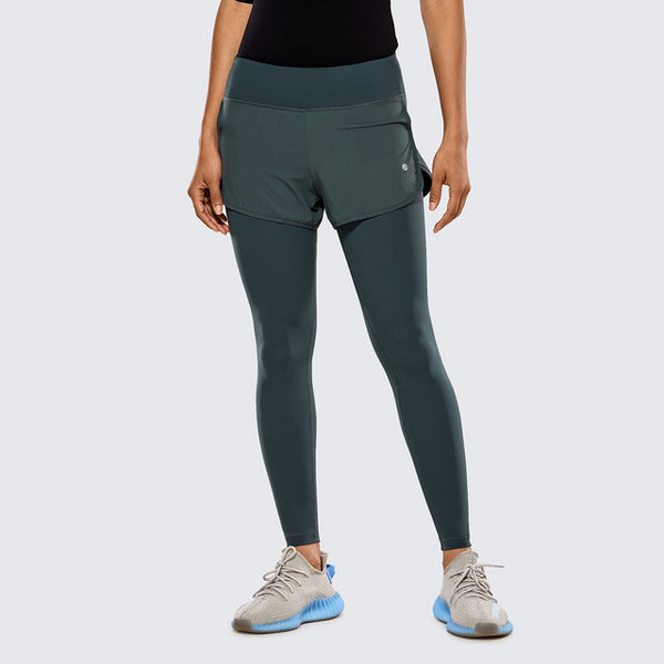 ELITE 2 IN 1 SEAMLESS LEGGINGS