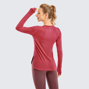 SAVVY GYM LONG SLEEVE-Fitness Junkies | Official Store