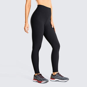 BOLD RIBBED SEAMLESS LEGGINGS-Fitness Junkies | Official Store